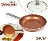 STARLYF COPPER PAN 24CM RETAIL FOR HOOK
