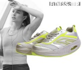 ZAPATILLAS DEPORTIVAS FITNESS STEP GREY - YELLOW