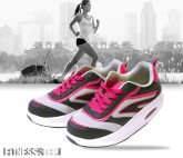 ZAPATILLAS DEPORTIVAS FITNESS STEP GREY - PINK
